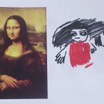 「モナリザ」の模写
